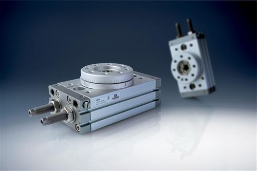 Series QR - Rotary Actuator with Rack and Pinion system